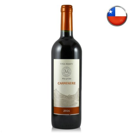 Vinho Vina Marty Carmenere (2016) - 750 ml