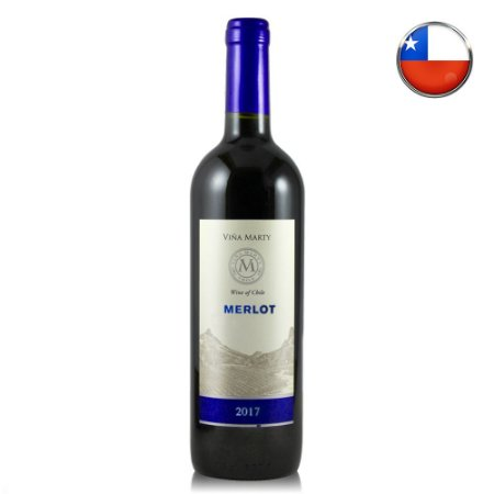 Vinho Vina Marty Merlot (2017) - 750 ml