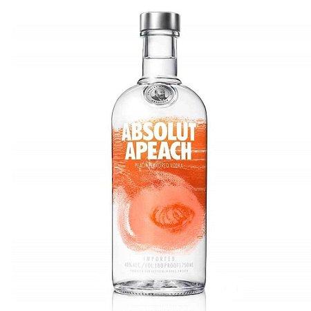 Vodka Absolut Apeach - 750 ml