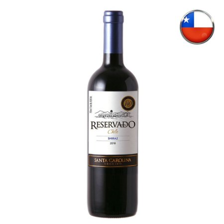 Vinho Santa Carolina Shiraz Reservado - 750 ml