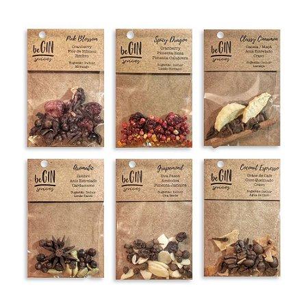 Kit de Especiarias para Gin Tônica - 6 Sachês