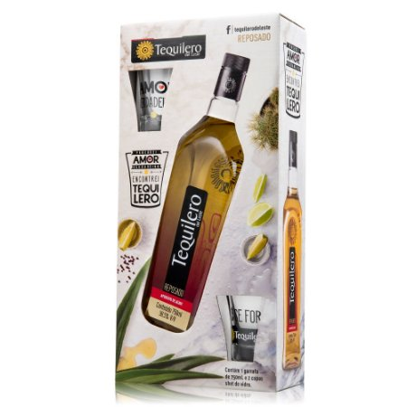 Kit Tequilero del Leste + 2 Shots Exclusivos (Vidro)