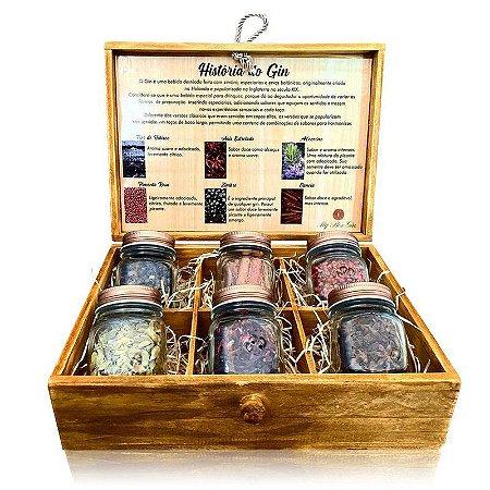 Kit My Box Gin - 6 Especiarias