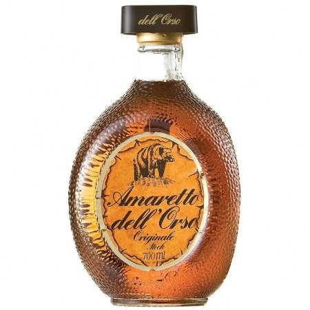 Licor Amaretto Dell Orso 700 ml + (Miniatura 50 ml)
