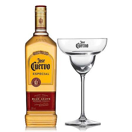 Tequila Jose Cuervo Gold 750 ml + Taça Margarita Oficial (Vidro)