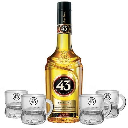 Licor 43 + 4 Mini Beer