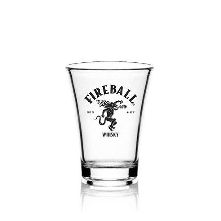 Shot Whisky Fireball - Acrílico - 50 ml
