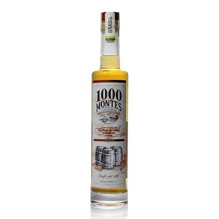 Cachaça 1000 Montes Carvalho 3AOB - 500 ml