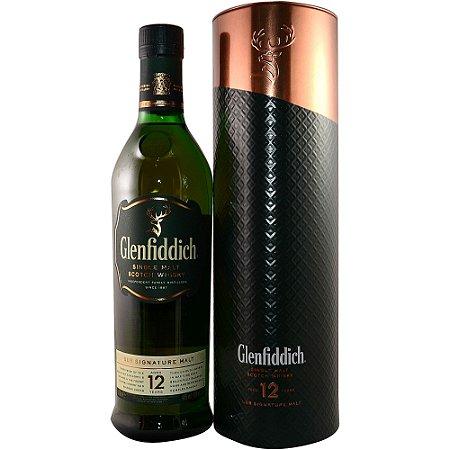 Whisky Glenfiddich 12 Anos - 750 ml - *Embalagem Metálica