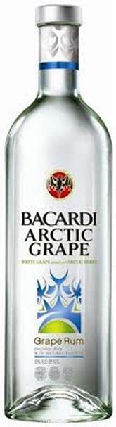 Rum Bacardi Arctic Grape - 750ml