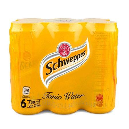 Fardo Tônica Schweppes lata - 6 unidades