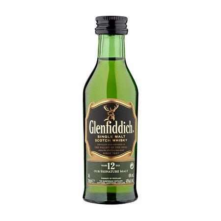 Whisky Glenfiddich 12 Anos - 50 ml