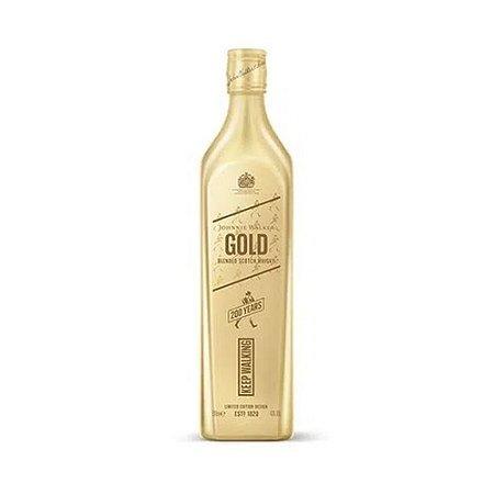 Whisky Johnnie Walker Gold Label 750ml - Embalagem Comemorativa de 200 anos