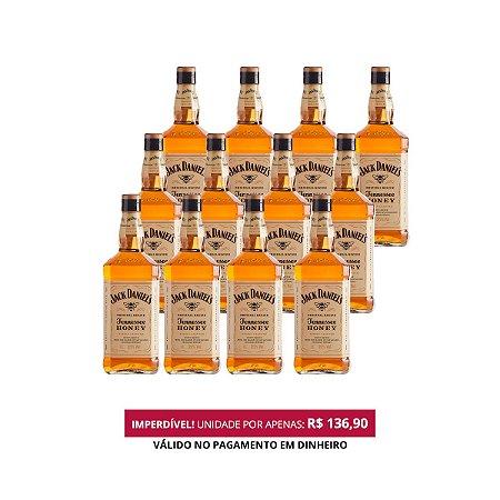 Whiskey Jack Daniel's Honey - 1L - Cx. / 12 Unid.