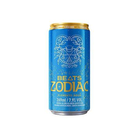 Skol Beats Zodiac Água Lt - 269ml - Pack Com 8 Unid.