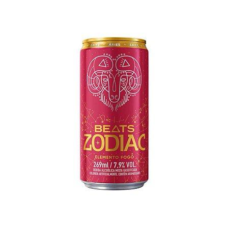 Skol Beats Zodiac Fogo Lt - 269ml - Pack Com 8 Unid.