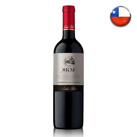 Vinho Tinto 8Km Cabernet Sauvignon - 750ml