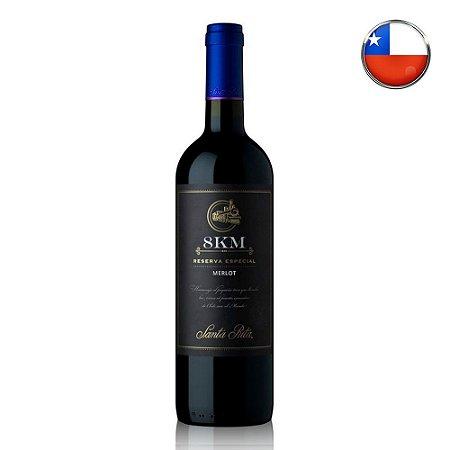 Vinho Tinto 8Km Reserva Especial Merlot - 750ml
