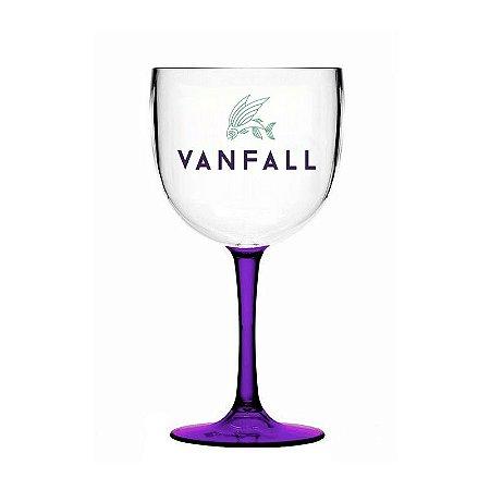 Taça Gin Vanfall - Acrílico - 580ml - Bicolor