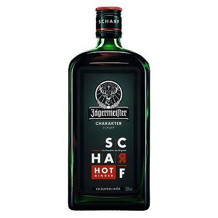 Licor Jagermeister Scharf Hot Ginger - 700ml