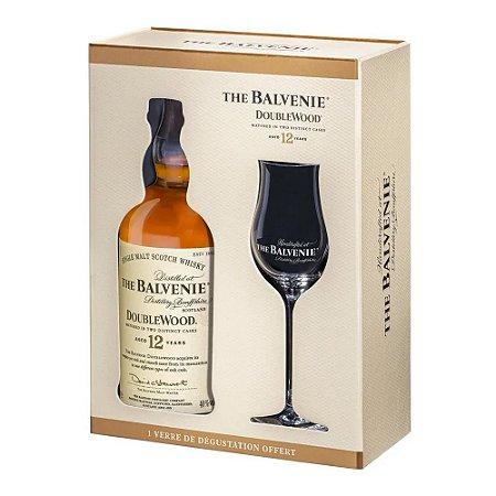 Whisky Balvenie Doublewood 12 Anos - 700ml + 1 Taça Personalizada