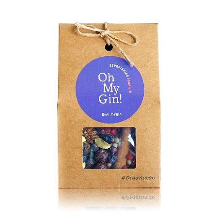 Kit de Especiarias Oh My Gin Degustação - 5 Sachês