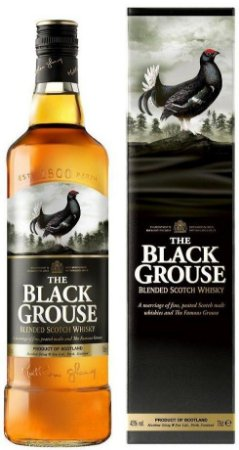Whisky The Black Grouse - 1L
