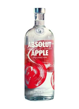 Vodka Absolut Apple - 1 L