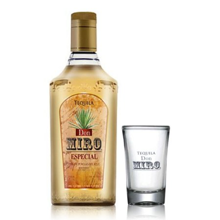 Tequila Don Miro Gold 750 ml + Shot Oficial