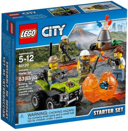 LEGO CITY 60120 VOLCANO STARTER SET
