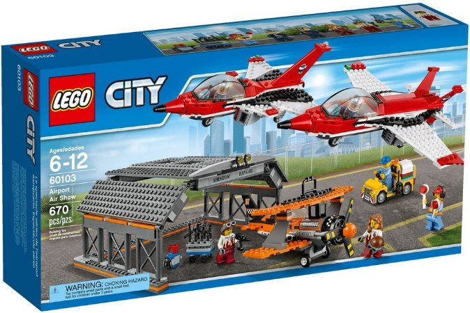 LEGO CITY 60103 AIRPORT AIR SHOW