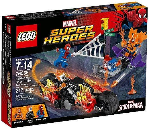 LEGO SUPER HEROES 76058 SPIDER-MAN: GHOST RIDER TEAM-UP