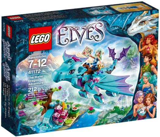 LEGO ELVES 41172 THE WATER DRAGON ADVENTURE