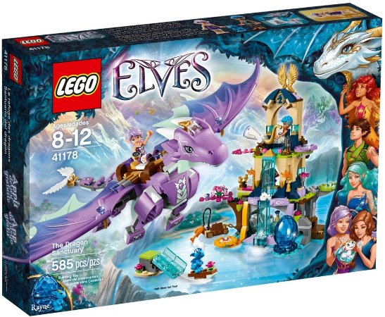 LEGO ELVES 41178 THE DRAGON SANCTUARY
