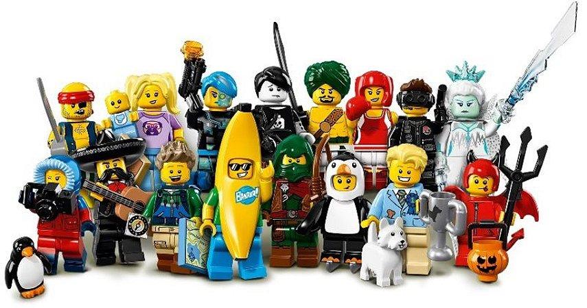 LEGO MINIFIGURES 71013 SERIE 16 (COLEÇÃO COMPLETA)