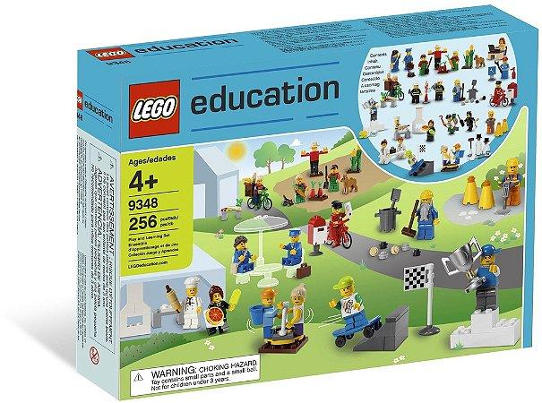 LEGO EDUCATION 9348 COMMUNITY MINIFIGURE SET