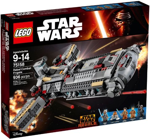 LEGO STAR WARS 75158 REBEL COMBAT FRIGATE