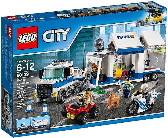 LEGO CITY 60139 MOBILE COMMAND CENTER