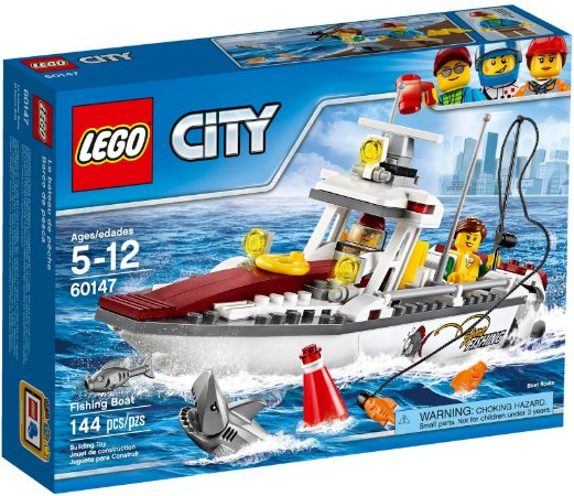 LEGO CITY 60147 FISHING BOAT