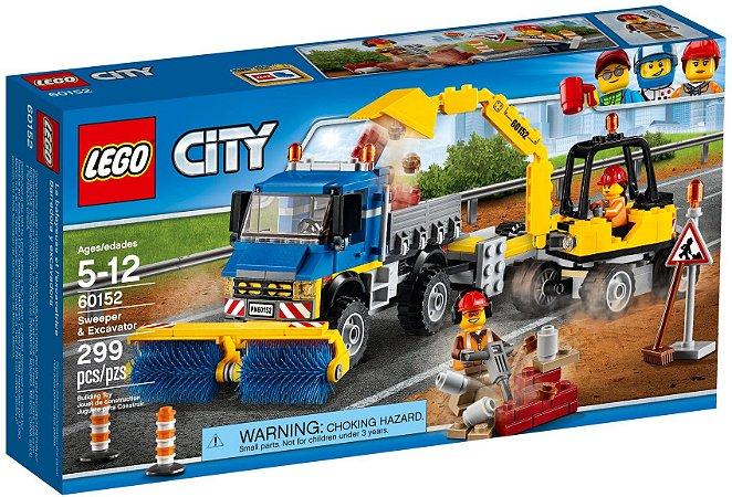 LEGO CITY 60152 SWEEPER E EXCAVATOR