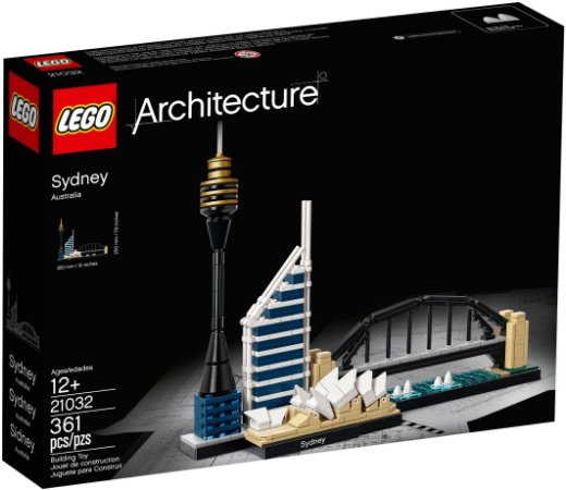 LEGO ARCHITECTURE 21032 SIDNEY