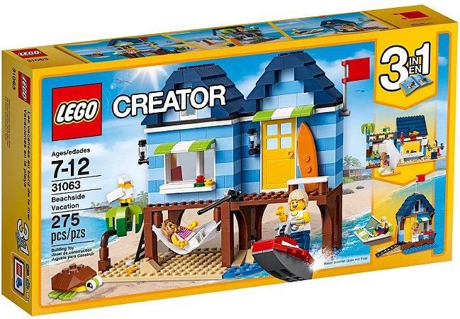 LEGO CREATOR 31063 BEACHSIDE VACATION