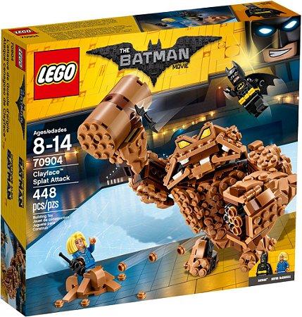 LEGO BATMAN MOVIE 70904 CLAYFACE SPLAT ATTACK