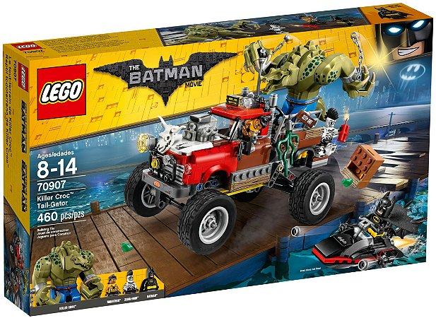 LEGO BATMAN MOVIE 70907 KILLER CROC TAIL-GATOR