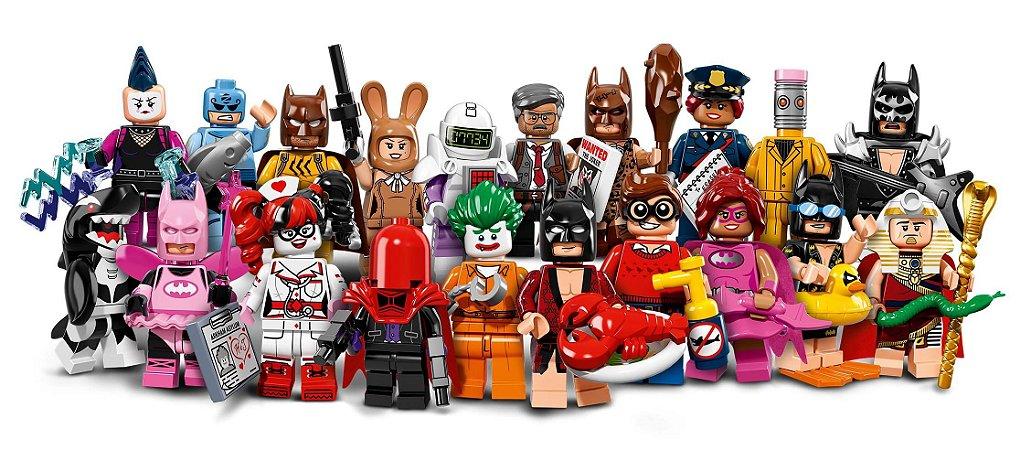 LEGO MINIFIGURES 71017 LEGO BATMAN MOVIE (COLEÇÃO COMPLETA)