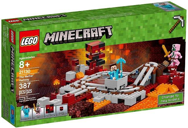 LEGO MINECRAFT 21130 A FERROVIA NETHER