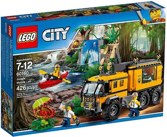 LEGO CITY 60160 JUNGLE MOBILE LAB