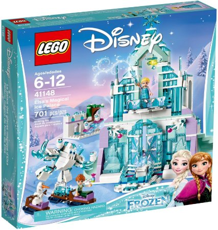 LEGO DISNEY 41148 ELSA'S MAGICAL ICE PALACE