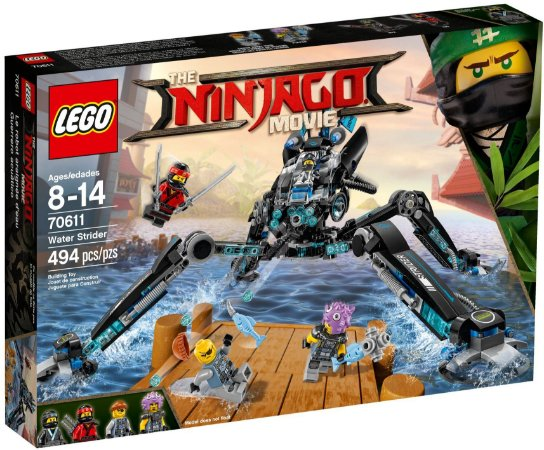 LEGO NINJAGO THE MOVIE 70611 WATER STRIDER