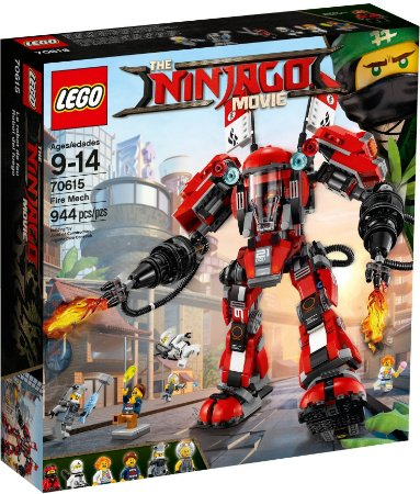 LEGO NINJAGO THE MOVIE 70615 FIRE MECH
